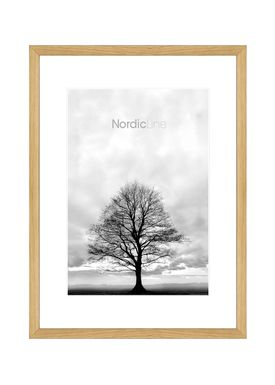 Nordic Line - Rammer - Slim / Solid / Wood - Solid Oak / 30 x 40