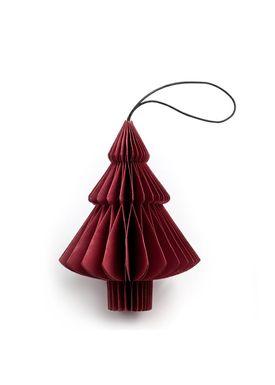 Nordstjerne - Julepynt - Christmas Paper  - Red - Tree