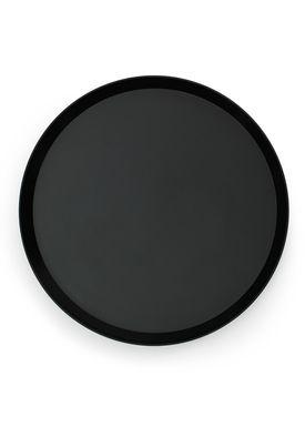 Normann Copenhagen - Tray - Geo bakke - Black
