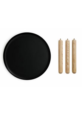 Normann Copenhagen - Bord - Tablo Table - Large - Sort
