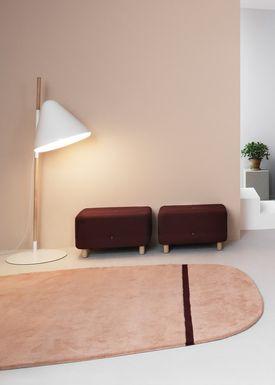 Normann Copenhagen - Gulvtæppe - Oona Carpet - Grå / 175x240