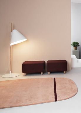 Normann Copenhagen - Gulvtæppe - Oona Carpet - Rosa / 175x240