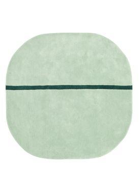 Normann Copenhagen - Gulvtæppe - Oona Carpet - Mint / 140x140