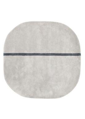 Normann Copenhagen - Gulvtæppe - Oona Carpet - Grå / 140x140