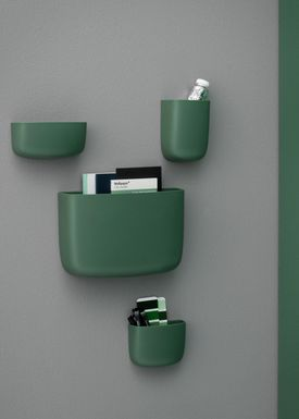 Normann Copenhagen - Shelf - Pocket Organizer - No. 3 - Dark Green