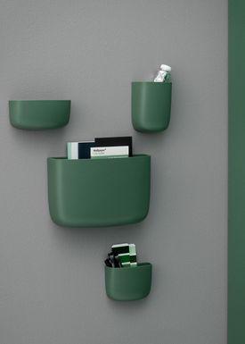 Normann Copenhagen - Hylde - Pocket Organizer - No. 2 - Mørkegrøn
