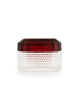 Normann Copenhagen - Boxes - Brilliant Box Small - Dark Red