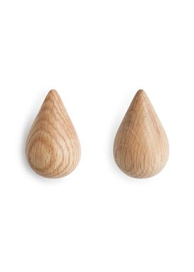 Normann Copenhagen - Hooks - Drop it - 2 pcs - Large - Nature