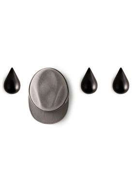 Normann Copenhagen - Knage - Drop it - sæt á 2 - Small - Sort
