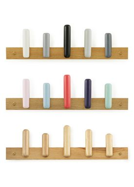 Normann Copenhagen - Hooks - Play Coat Rack - Shadow