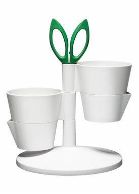 Normann Copenhagen - Krydderurtestander - Herb Stand - White