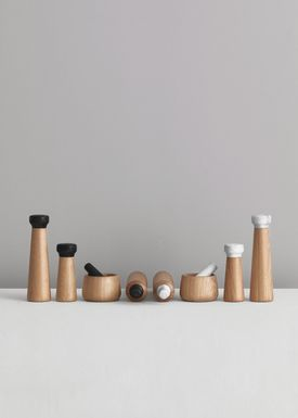 Normann Copenhagen - Mill - Craft Pepper Mill - Small - black/oak