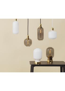 Normann Copenhagen - Lampe - Amp Lamp - Small - Røget/Brass