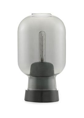Normann Copenhagen - Lampe - Amp Table Lamp - Røget/Sort Marmor
