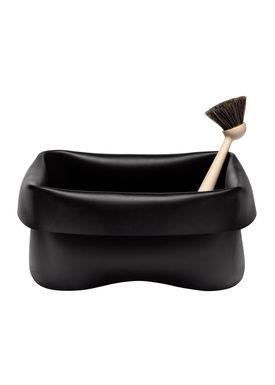 Normann Copenhagen - Opvask - Washing Up Bowl & Brush - Black