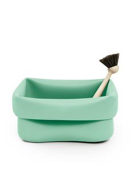 Normann Copenhagen - Opvask - Washing Up Bowl & Brush - Mint