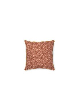 Normann Copenhagen - Cushion - Posh Pude - Busy Structure Caramel