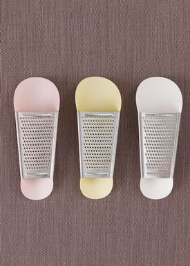 Normann Copenhagen - Rivejern - Pinch Cheese Grater - Hvid