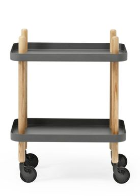 Normann Copenhagen - Rullebord - Block Table - Mørkegrå