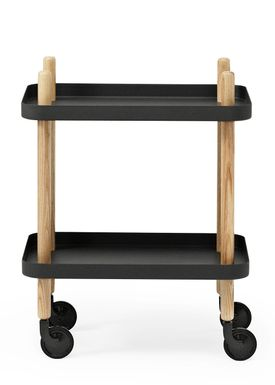 Normann Copenhagen - Rullebord - Block Table - Sort