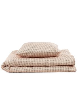Normann Copenhagen - Sengesæt - Bed Linen - Plus Bed Linen- Nude