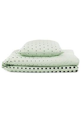 Normann Copenhagen - Sengesæt - Bed Linen - Cube Bed Linen- Mint