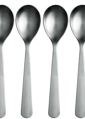 Normann Copenhagen - Skeer - Normann Spoons - 6 pack - Stainless steel