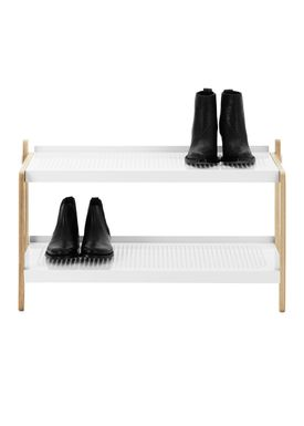 Normann Copenhagen - Shoe Rack - Sko Shoe Rack - White