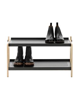 Normann Copenhagen - Shoe Rack - Sko Shoe Rack - Dark Grey