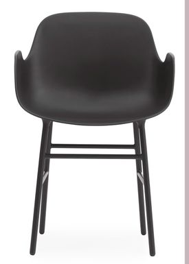 Normann Copenhagen - Stol - Form Armchair - Sort/Sort