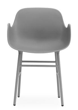 Normann Copenhagen - Stol - Form Armchair - Grå/Grå