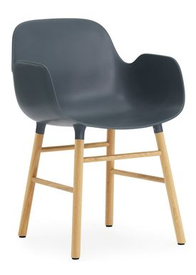 Normann Copenhagen - Chair - Form Chair - Blue/Oak