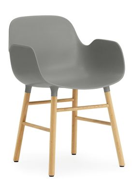 Normann Copenhagen - Chair - Form Chair - Grey/Oak