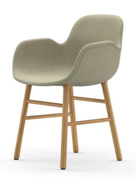 Normann Copenhagen - Chair - Form Armchair Full Upholstery Oak - Oak legs