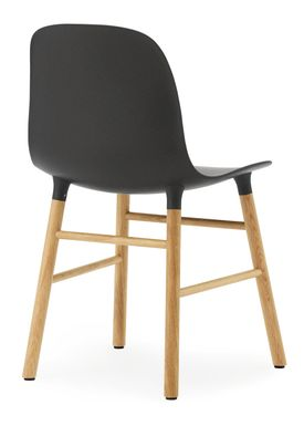 Normann Copenhagen - Stol - Form Chair - Sort/Eg