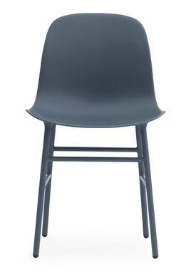 Normann Copenhagen - Stol - Form Chair - Blå/Blå