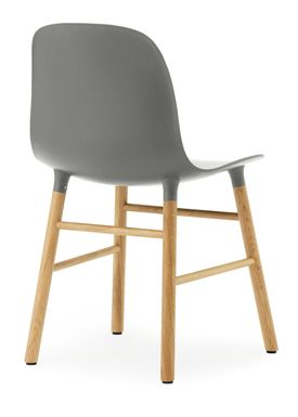 Normann Copenhagen - Stol - Form Chair - Grå/Eg