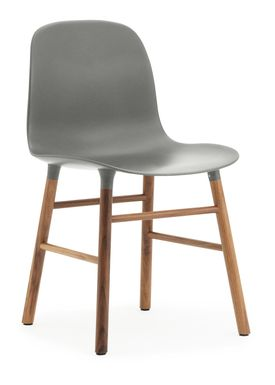 Normann Copenhagen - Chair - Form Chair - Grey/Walnut
