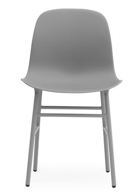 Normann Copenhagen - Stol - Form Chair - Grå/Grå