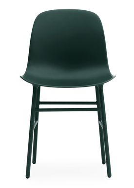 Normann Copenhagen - Stol - Form Chair - Grøn/Grøn