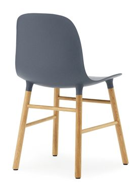 Normann Copenhagen - Stol - Form Chair - Blå/Eg