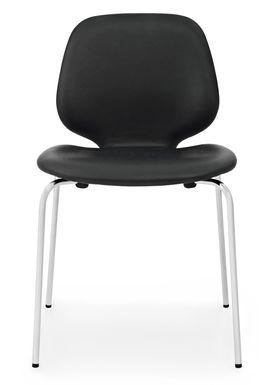 Normann Copenhagen - Stol - My Chair - Læder / Stål ben