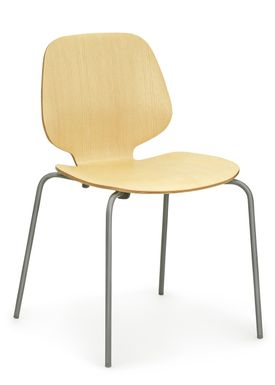 Normann Copenhagen - Stol - My Chair - Ask / Mørkegrå ben