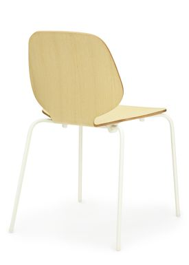 Normann Copenhagen - Stol - My Chair - Ask / Hvide ben