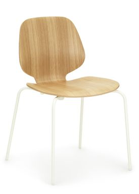 Normann Copenhagen - Stol - My Chair - Oak / Hvide ben