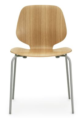 Normann Copenhagen - Stol - My Chair - Oak / Mørkegrå ben