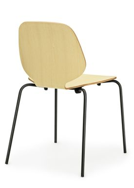 Normann Copenhagen - Stol - My Chair - Ask / Sorte ben