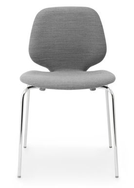 Normann Copenhagen - Stol - My Chair - Stof / Breeze Fusion / Stål ben