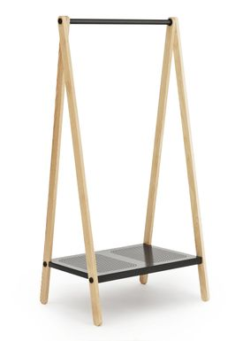 Normann Copenhagen - Clothes Rack - Toj Clothes Rack - Small - Dark Grey
