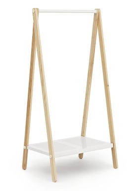 Normann Copenhagen - Clothes Rack - Toj Clothes Rack - Small - White